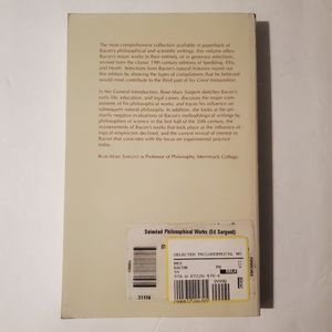 Vintage Accents - Selected Philosophical Works of Francis Bacon Book